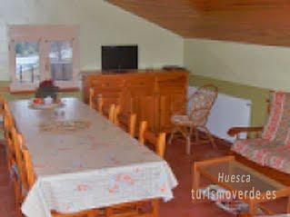 TURISMO VERDE HUESCA. Casa Rubén de Hospital de Tella